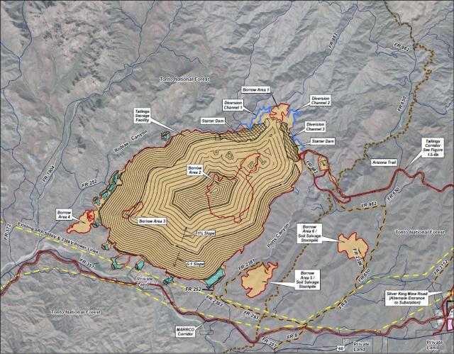 Proposed Toxic Tailings Site